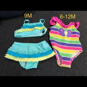 Other - 2 sets of baby swimsuits